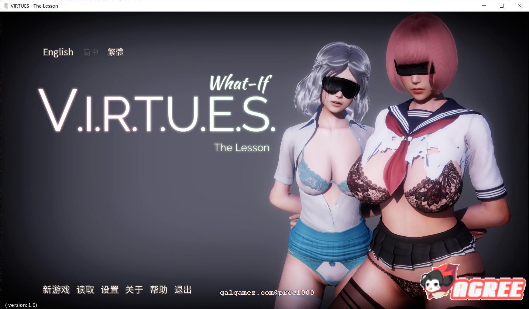 【大型SLG中文动态】美德What if 2~惩罚! PC+安卓官方中文版付全系列汉化【6G】 1