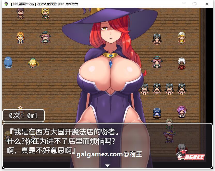 [NPC姦RPG/御光汉化]在游戏世界里对NPC为所欲为!精翻汉化版+全CG包[百度][1G] 5